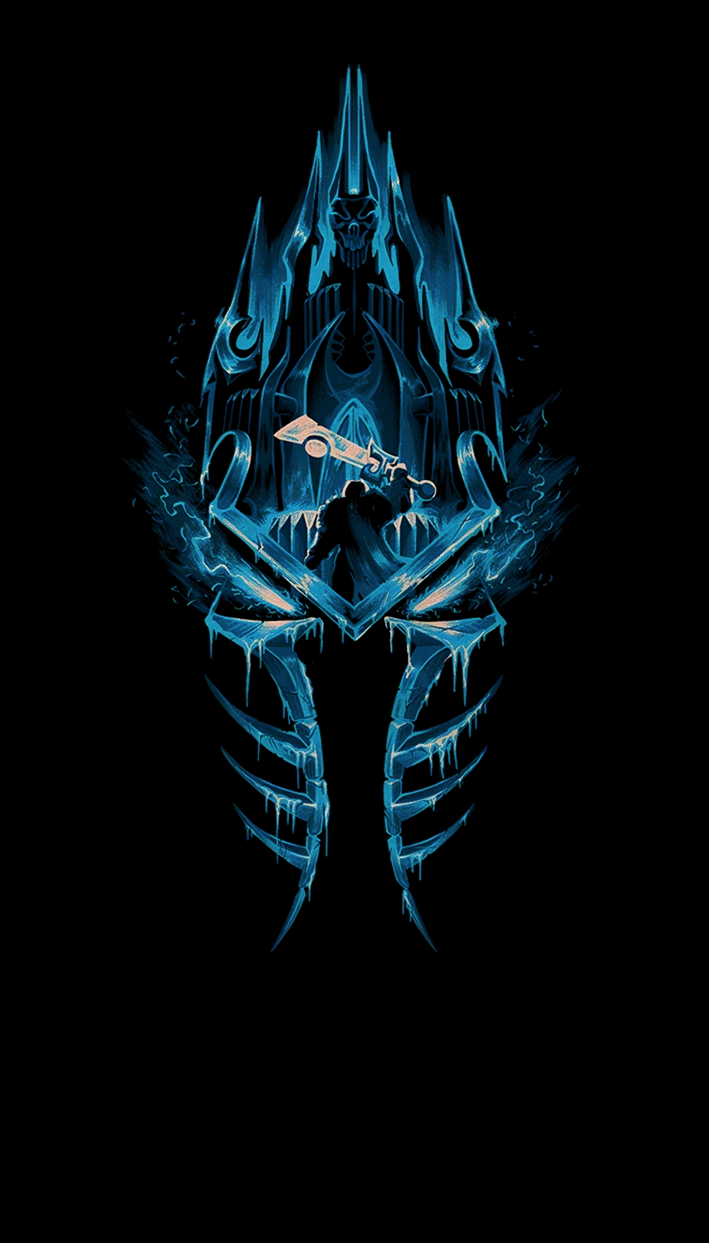 Wrath of the Lich King (1440x2523)