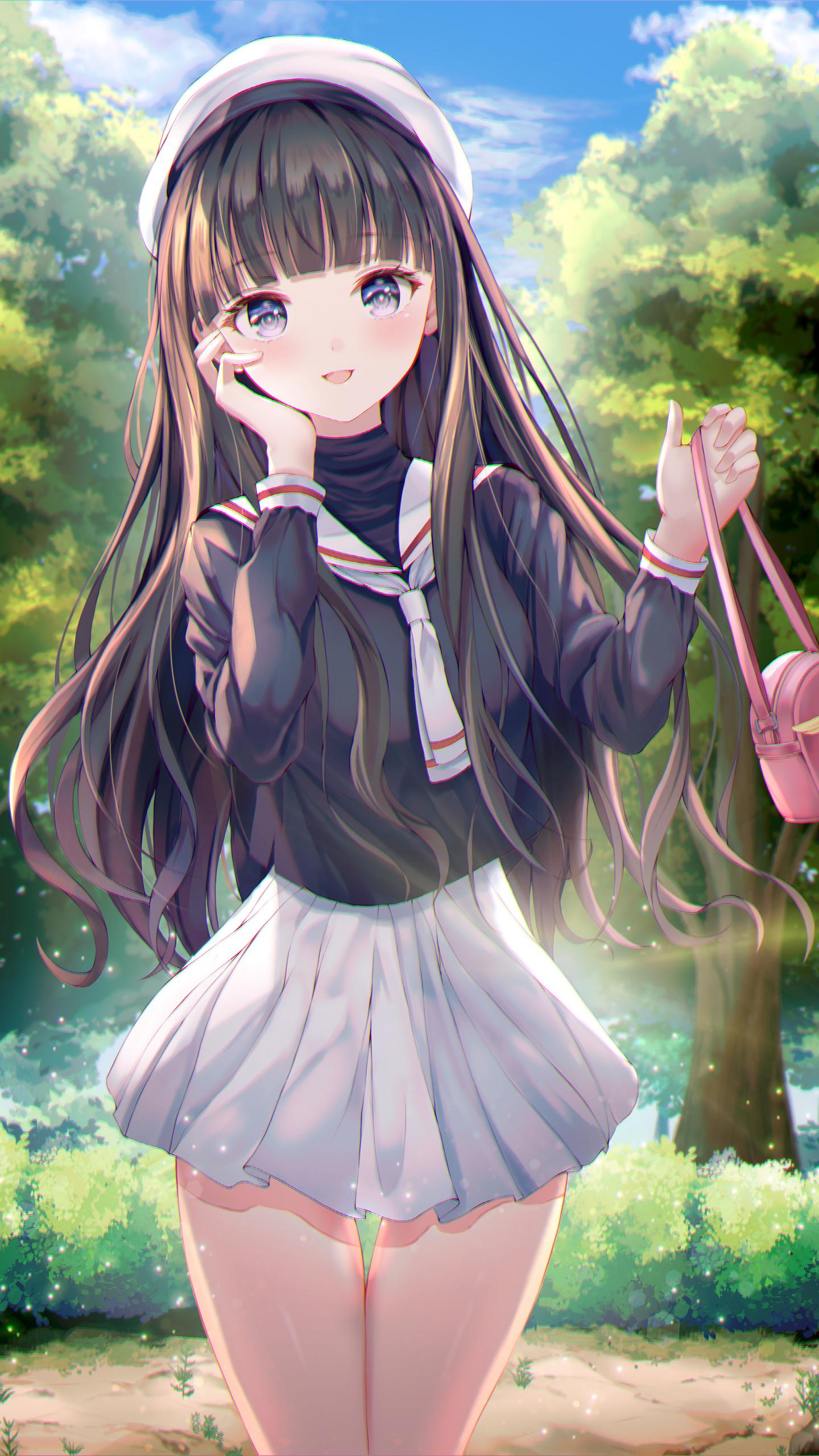 Tomoyo (Cardcaptor Sakura) (1440x2560)
