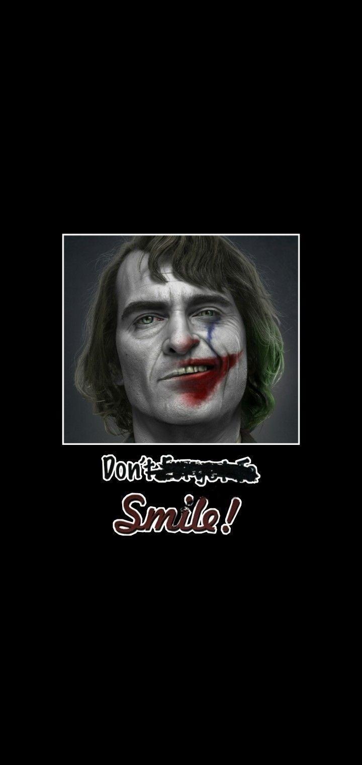 A Joker wallpaper I made for myself.