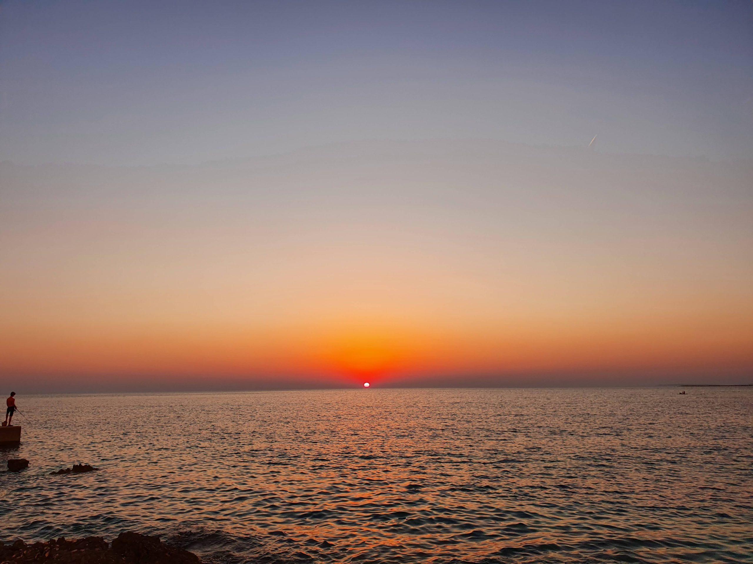 Minimalist sunset taken yesterday