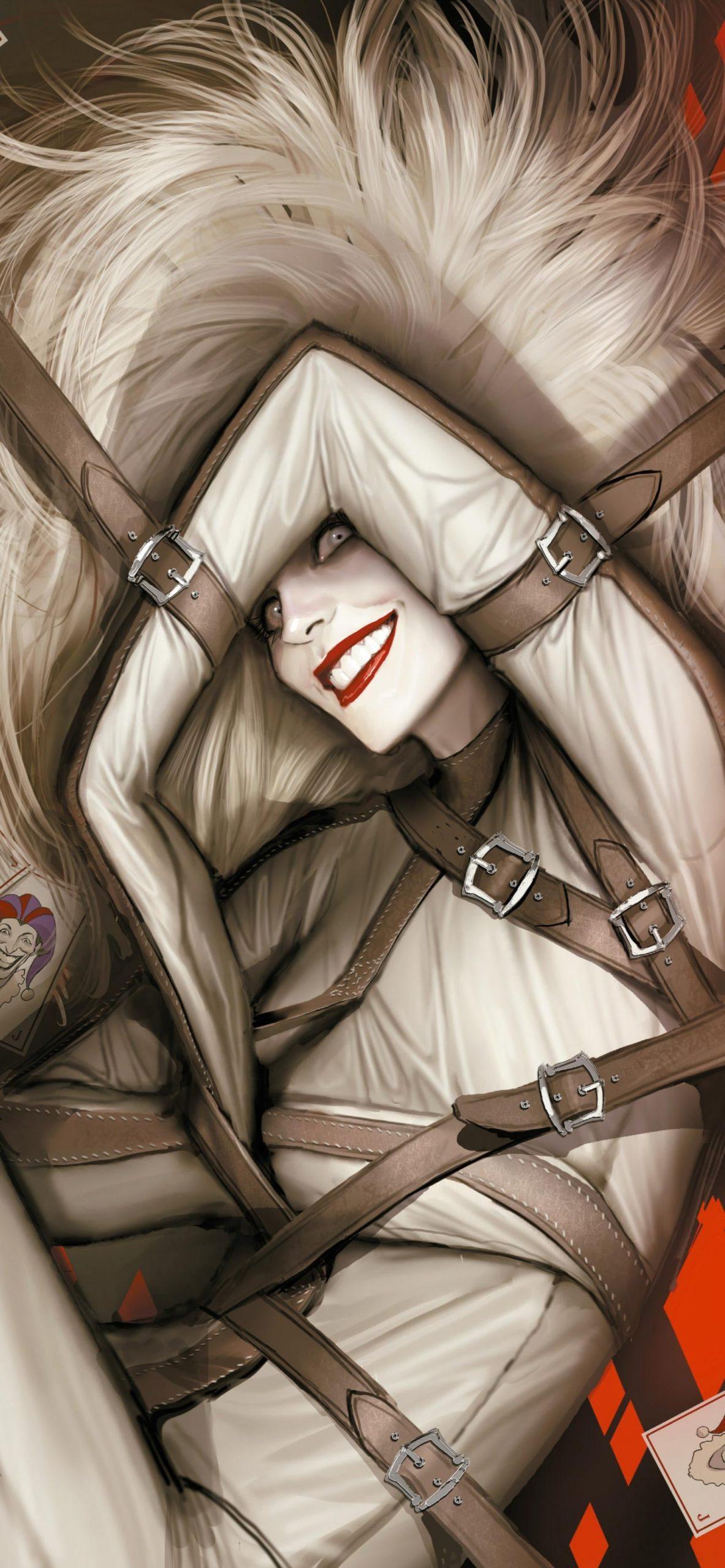 'Harleen' Harley Quinn wallpaper [1550x3354]