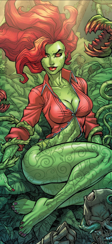 Poison Ivy wallpaper [1132x2456]